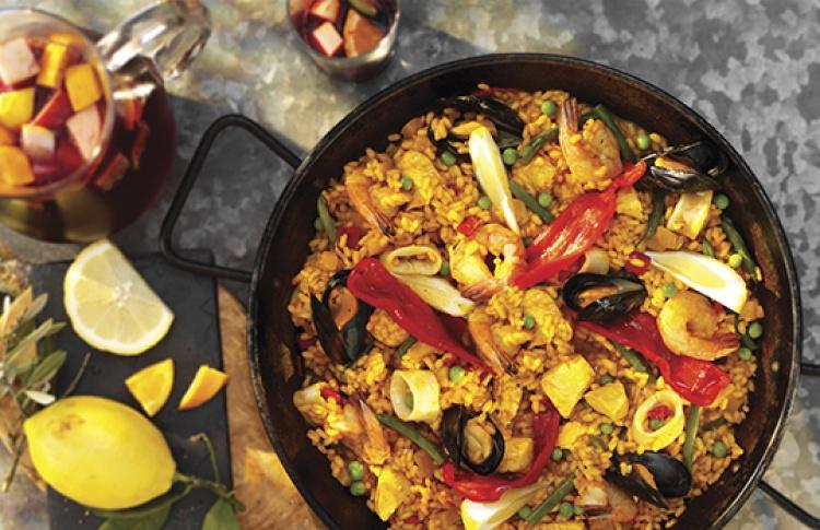 Неделя испанской кухни на летней террасе Shakti