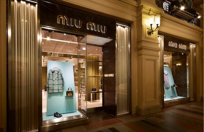 Открылся самый большой в Москве бутик Miu Miu