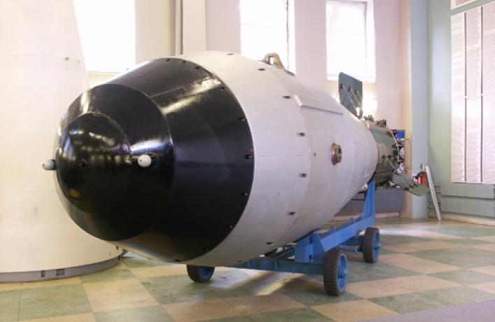 В «Манеже» выставят термоядерную бомбу