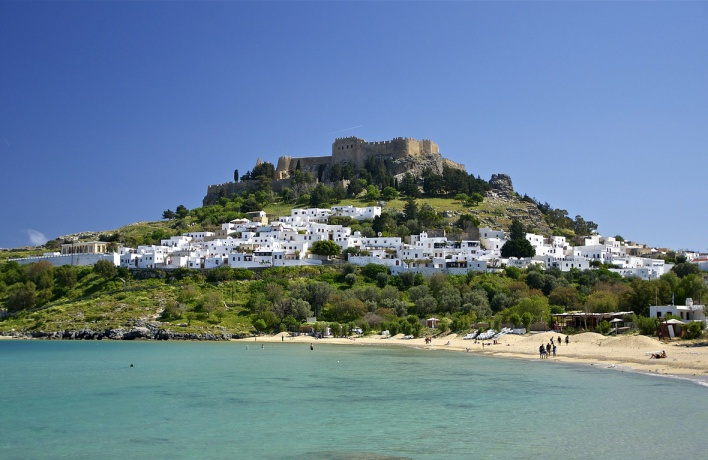 Список греческих курортов, которыми интересовались россияне