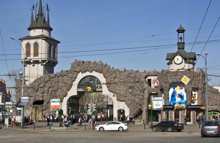 Возле зоопарка появится еще один выход из метро