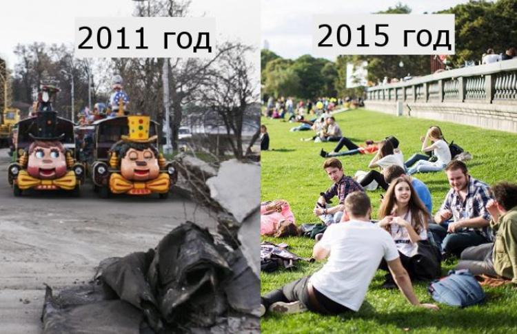 Как Москва изменилась, а мы даже не заметили