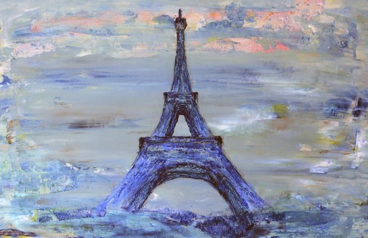«Париж под Эйфелевой башней» - мастер-класс по живописи маслом