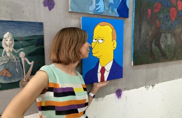 С выставки Art.Who.Art украли портрет Путина