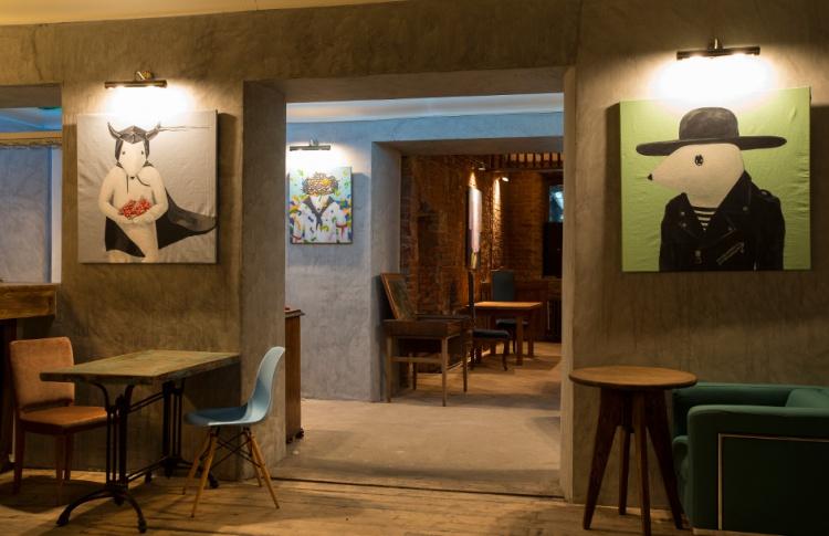 На месте «Леди Джейн» и «Мастерской» открылся бар Backyard de Moscou