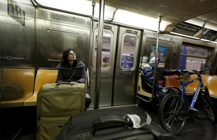 В метро могут разрешить провозить велосипеды