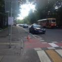 Москвичам предлагают оценить велополосу на Бульварном кольце