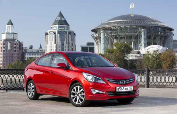 «Хендэ Мотор СНГ» представляет Hyundai Solaris Special Edition 500 000th