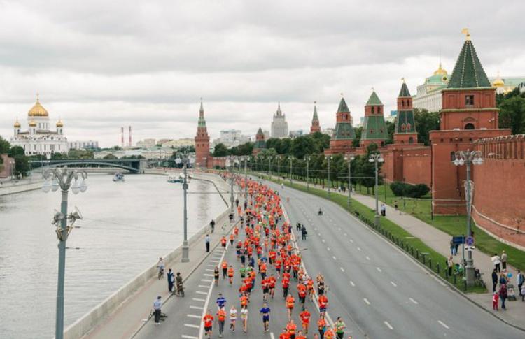 Из-за Московского марафона перекроют половину центральных улиц