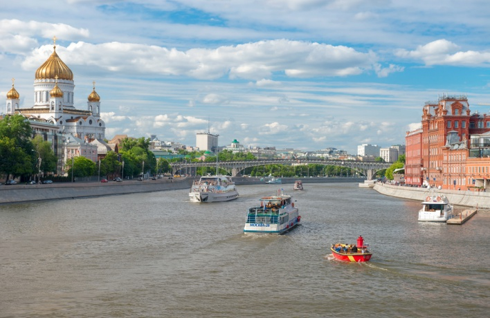 Навигацию на Москве-реке продлили до конца сентября