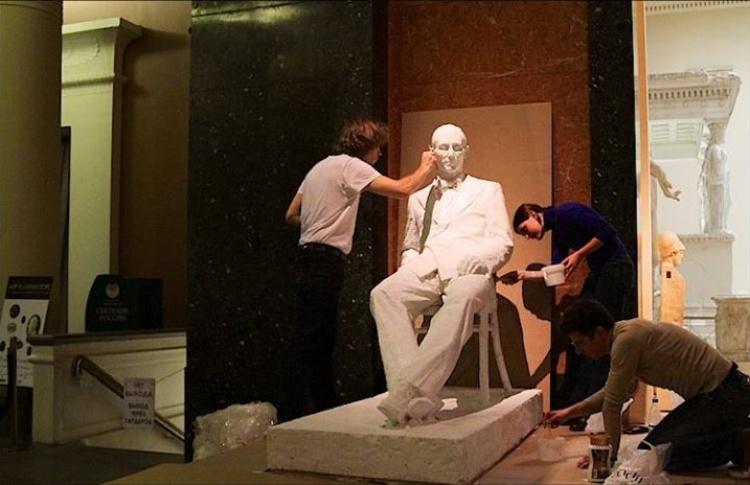 Памятник Ле Корбюзье откроют в октябре