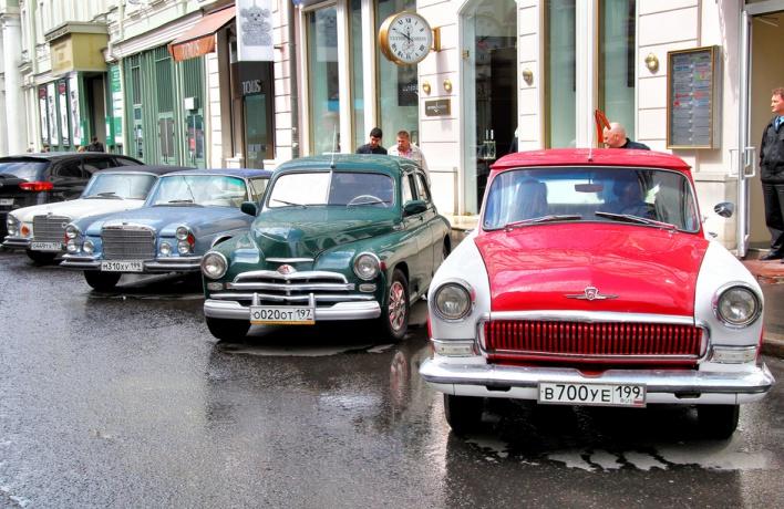 В Москве могут запретить машины старше 15 лет