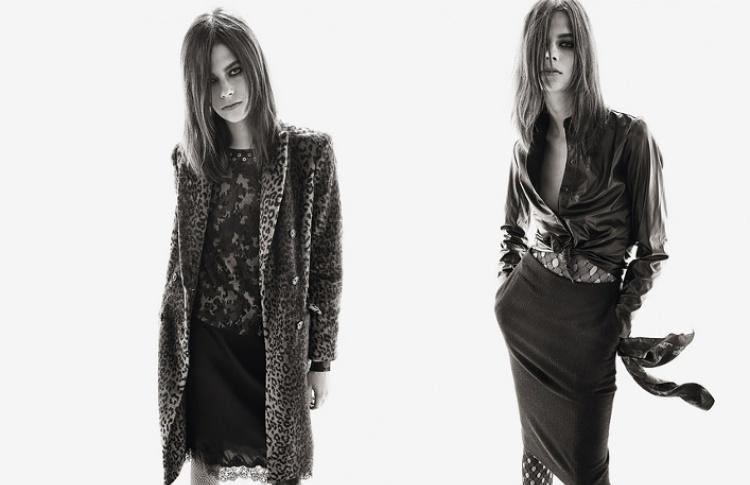 В ноябре в продаже появится совместная коллекция Uniqlo с Карин Ройтфельд