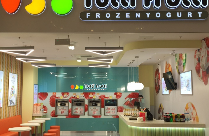 Осенний марафон вкусов в новом кафе Tutti Frutti Frozen Yogurt  в ТРК «Город» Лефортово