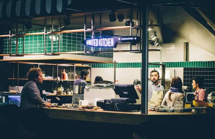 Бистро United Kitchen переехало на Даниловский рынок