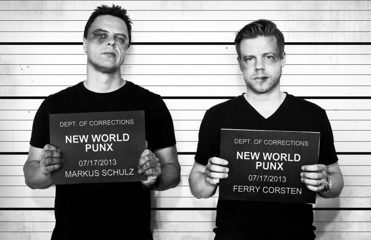 День рождения клуба: New World Punx (Ферри Корстен и Маркус Шульц)