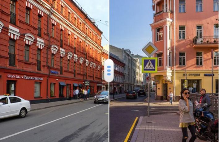 Появилась карта, показывающая, как меняется Москва