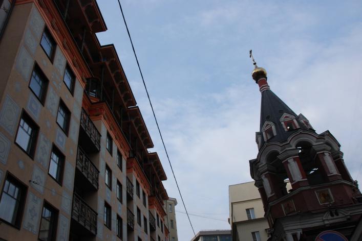 «В лабиринте переулков от Пречистенки до Староконюшенного» - пешеходная экскурсия