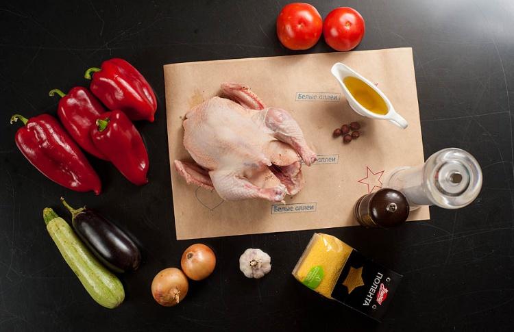 Рецепт: куриная грудка при низкой температуре Фото №473755