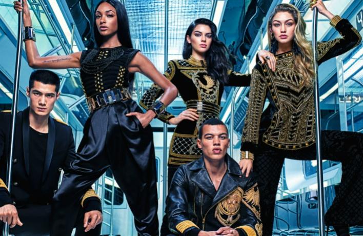 5 ноября в продажу поступит совместная коллекция H&M и Balmain