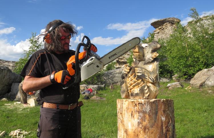 Международный симпозиум по современной ландшафтной скульптуре из дерева