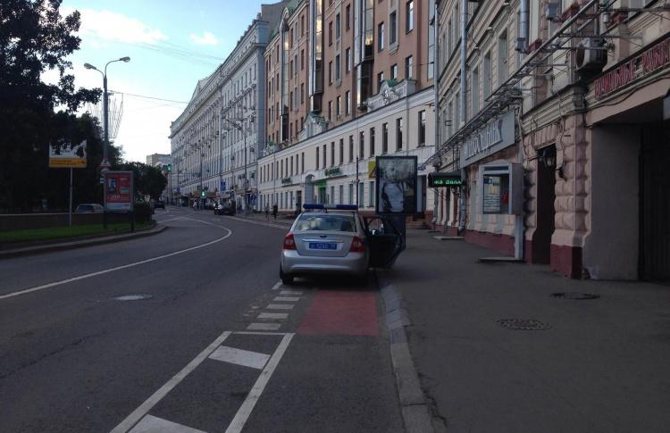 Велополосу на Бульварном кольце откроют для автомобилей