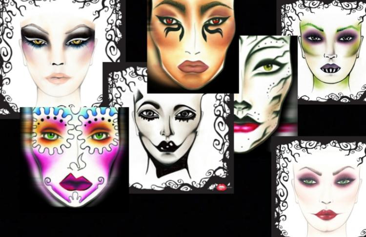7 вариантов макияжа на Хэллоуин