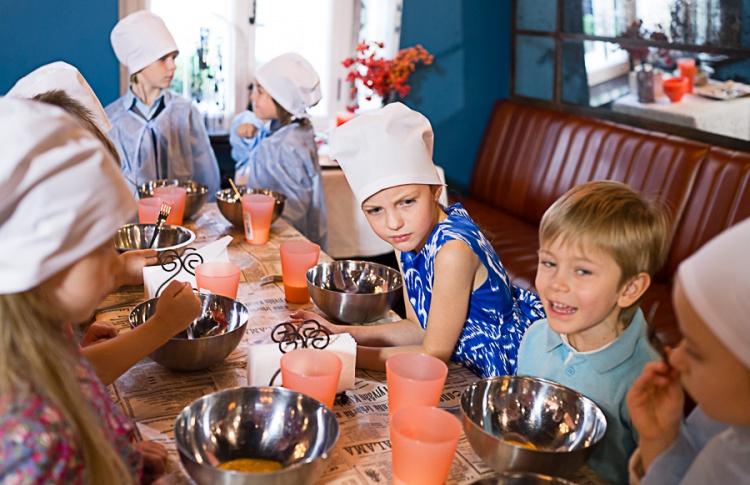 В BEATR!CE детей научат готовить, а заодно — английскому