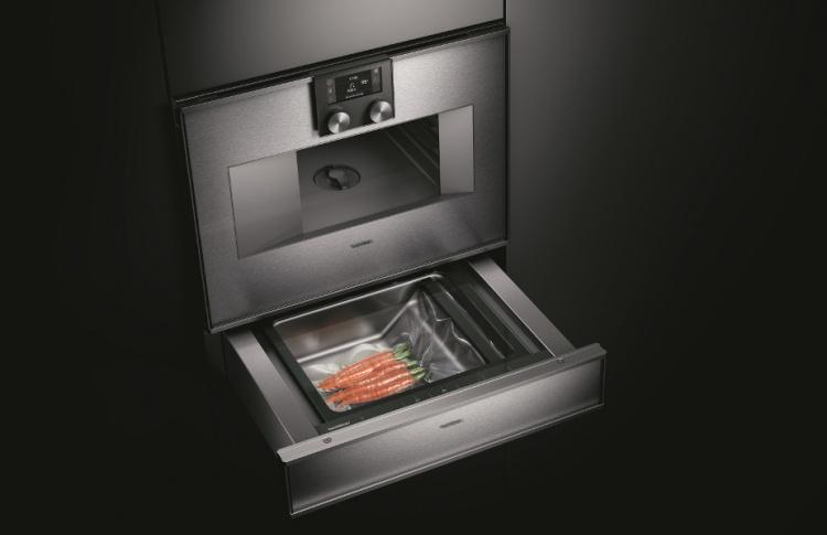Gaggenau представляет духовые шкафы-пароварки серии 400 с функцией «сувид»