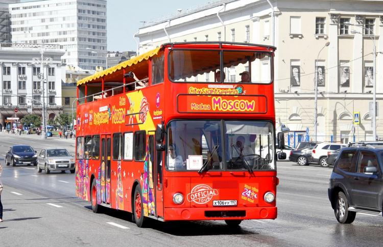 В Москве появятся двухэтажные электроавтобусы