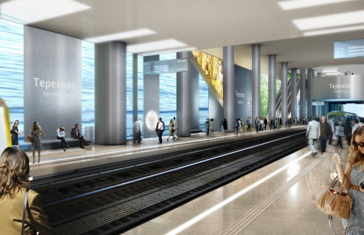 Посмотрите, как будут выглядеть станции «Нижние Мневники» и «Терехово»