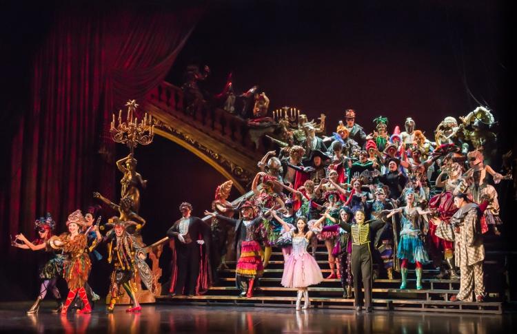 «Призрак оперы» отметит новый год балом-маскарадом