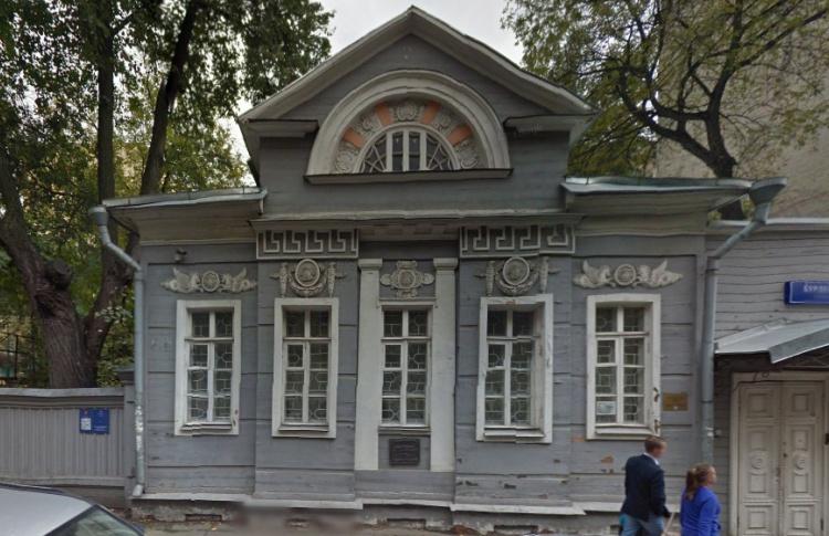 Выставочный зал ГосНИИ реставрации