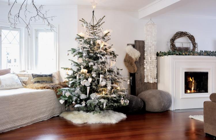 6 дизайнерских рецептов по украшению елки