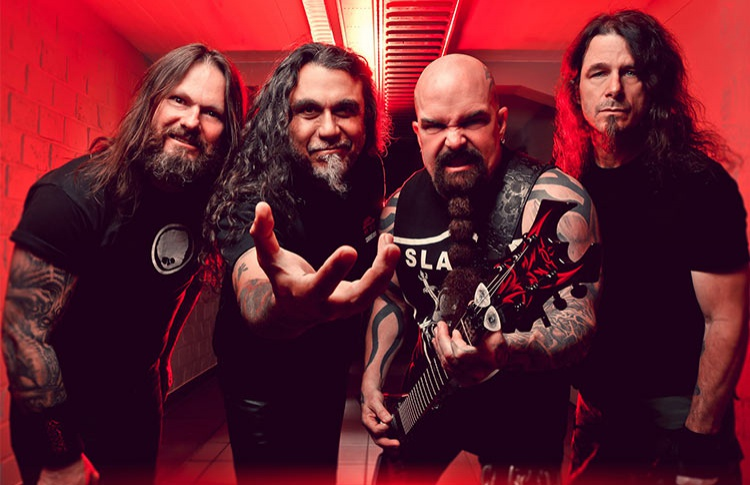 Концерт Slayer