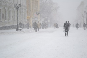 Нижний Новгород и немножко снежно