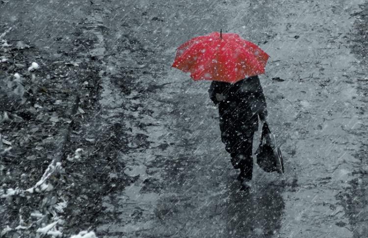 Погода недели: плюсовая температура, снег, слякоть, дождь