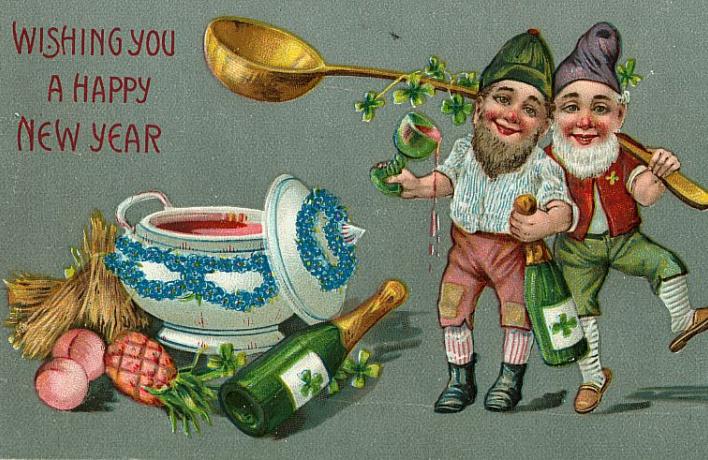 Символика новогодних открыток конца XIX – начала XX века