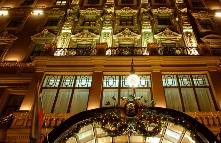Каникулы в «Гранд Отеле Европа»