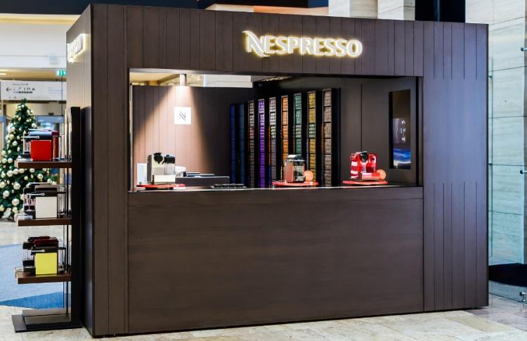 Философия Nespresso в центре деловой столицы