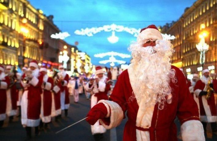 Танцы со звездами: солирует Дед Мороз