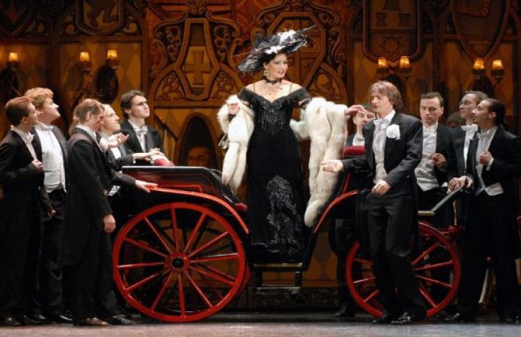 Новогодний концерт «Оперетта - любовь моя»