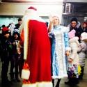 Деды Морозы будут поздравлять пассажиров метро до 31 декабря