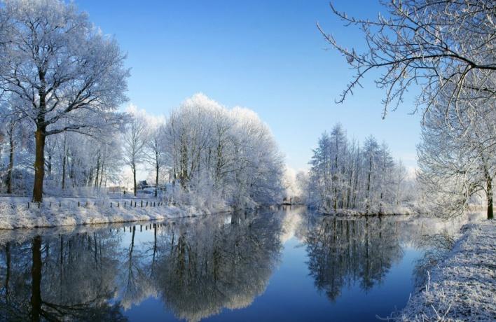 Мороз и снегопады ожидают нас на неделе с 11 по 17 января