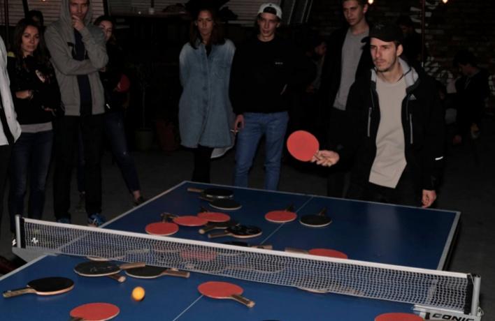 В «Цветном» теперь можно бесплатно поиграть в пинг-понг
