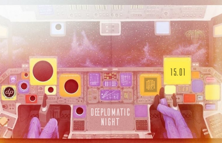 Deeplomatic People Night With Krjuk (Spb)