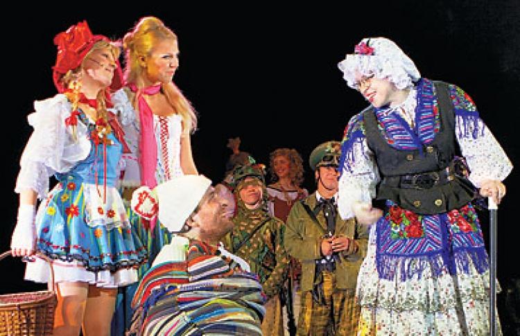 Красная шапочка - шоу 21 века