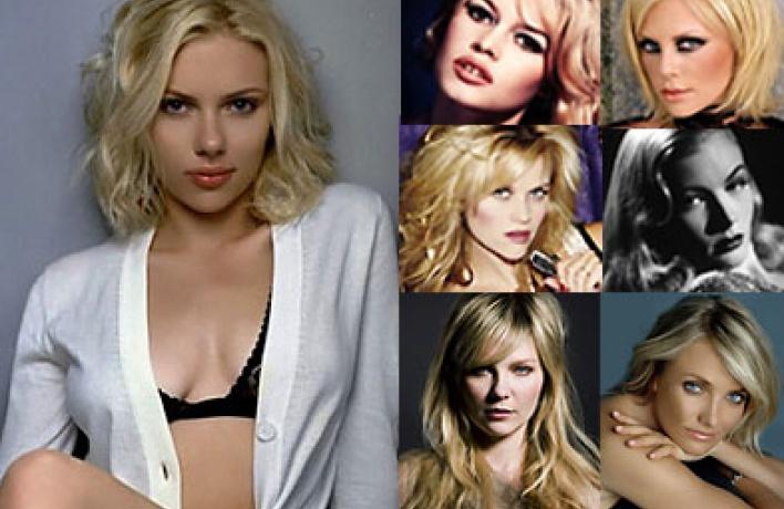 Эволюция блондинок