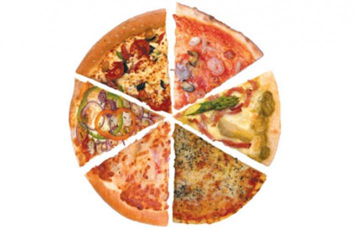 Пицца вгороде