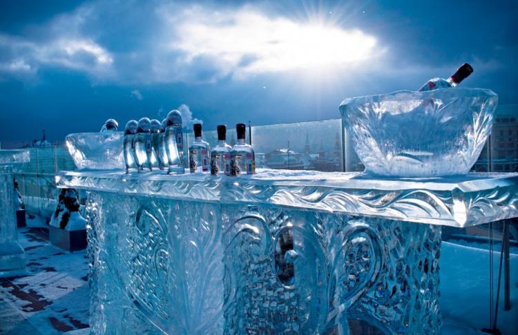 На крыше отеля «Арарат Парк Хаятт» открылся ледяной бар